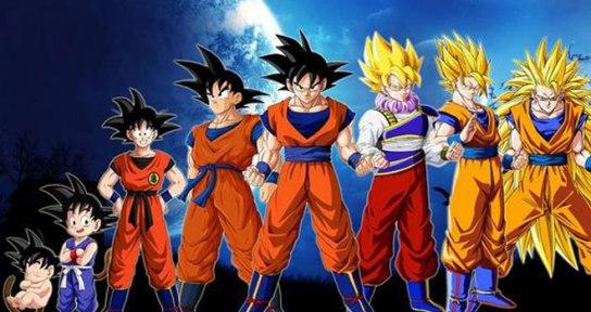 Dragon-Ball-Z-evolucion-de-Goku